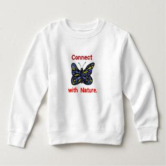 """Connect with Nature"" Toddler Fleece Sweatshirt"