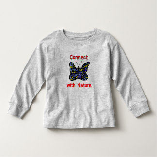 """""""Connect with Nature"""" Toddler Long Sleeve T-Shirt"""