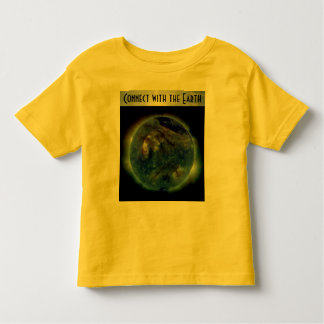 connect with the earth toddler shirt