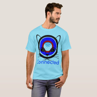 Connected-funny t-shirt design/Apparel