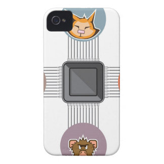 Connected to major processor iPhone 4 Case-Mate case