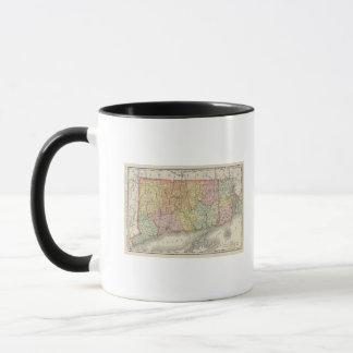 Connecticut and Rhode Island Mug