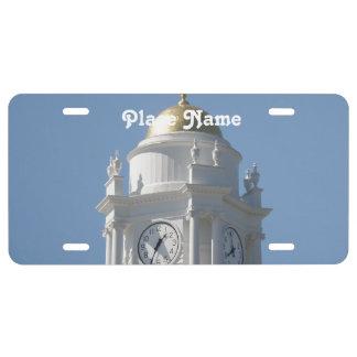 Connecticut Capital License Plate