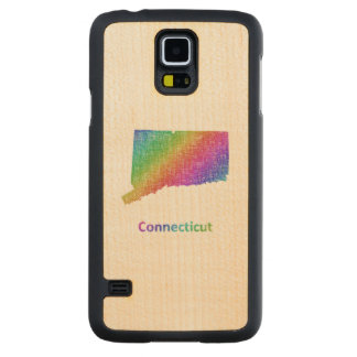 Connecticut Carved Maple Galaxy S5 Case