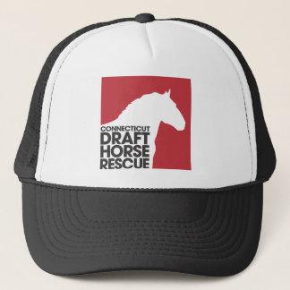 Connecticut Draft Horse Rescue logo Trucker Hat