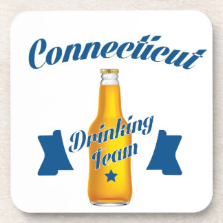 Connecticut Drinking team Coaster
