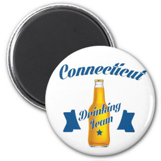 Connecticut Drinking team Magnet