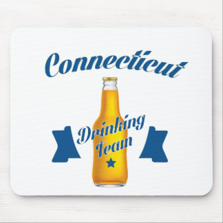Connecticut Drinking team Mouse Pad