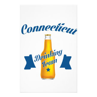Connecticut Drinking team Stationery