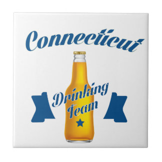 Connecticut Drinking team Tile