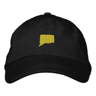Connecticut Embroidered Hats