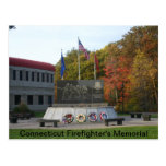 Connecticut Firefighter's Memorial Postcard