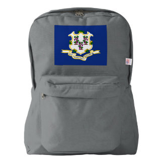 CONNECTICUT FLAG BACKPACK