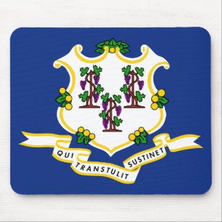 CONNECTICUT FLAG MOUSE PAD