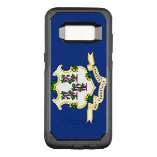 Connecticut Flag Otterbox Samsung Galaxy S8 Case