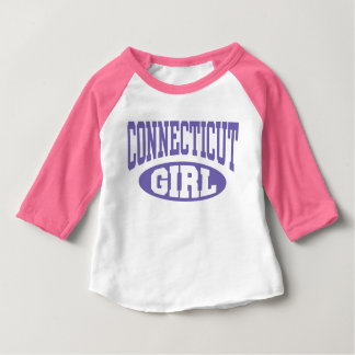 Connecticut Girl Baby T-Shirt