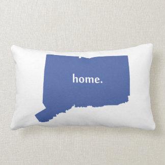 Connecticut Home blue Lumbar Pillow