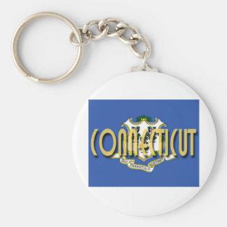 Connecticut Keychain