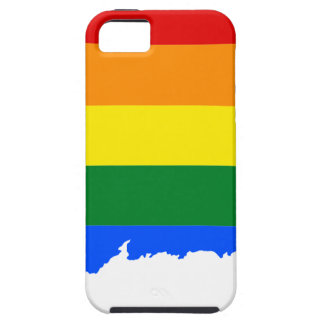 Connecticut LGBT Flag Map iPhone 5 Covers