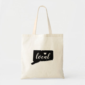 Connecticut Local State Tote Bag