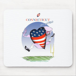 connecticut loud and proud, tony fernandes mouse pad