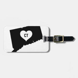 Connecticut Love Luggage Tag