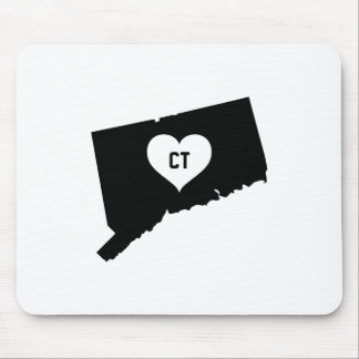 Connecticut Love Mouse Pad