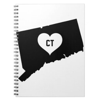 Connecticut Love Spiral Notebook