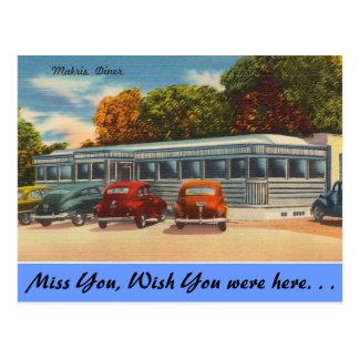Connecticut, Makris Diner Postcard