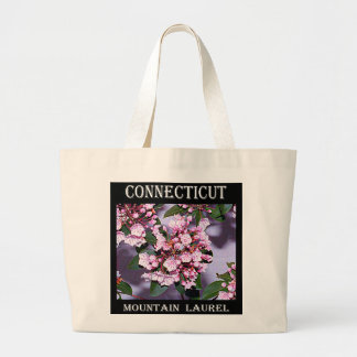 Connecticut Mountain Laurel Large Tote Bag