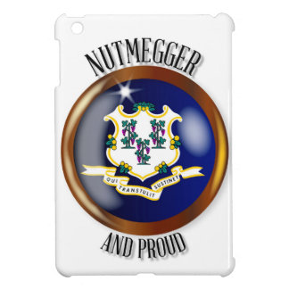 Connecticut Proud Flag Button iPad Mini Covers