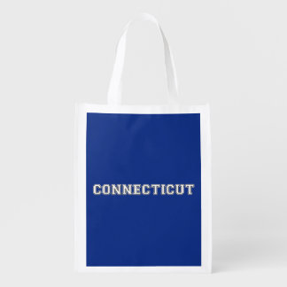 Connecticut Reusable Grocery Bag