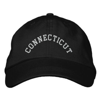 Connecticut State Embroidered Embroidered Hat
