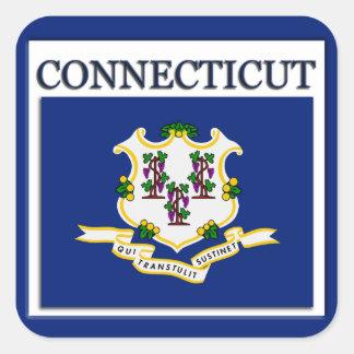 Connecticut State Flag Design Sticker