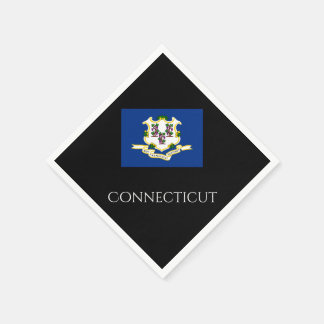 Connecticut State Flag Paper Napkins by Janz