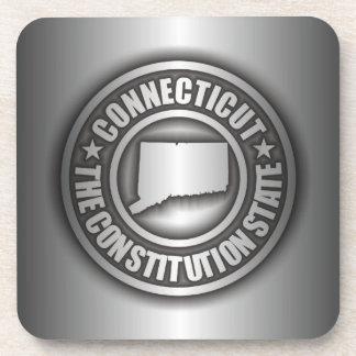 """Connecticut Steel"" Cork Coasters"