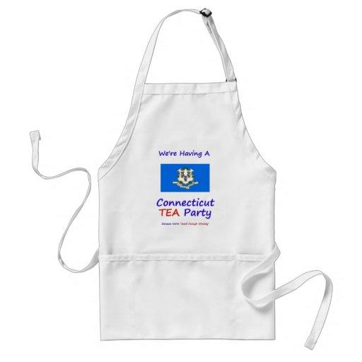 Connecticut TEA Party - We're Taxed Enough Already Apron