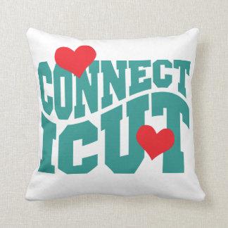 Connecticut Throw Pillow