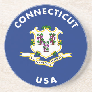 Connecticut USA Coaster