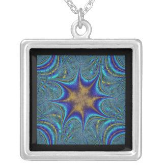 Connective Square Pendant Necklace