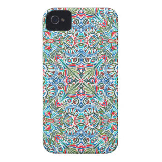 Connectivity - endless pattern iPhone 4 cover