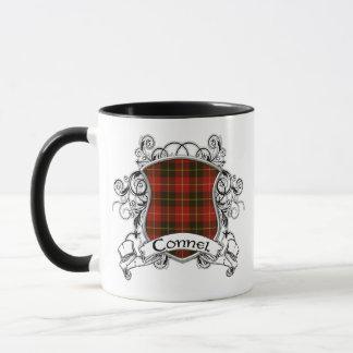 Connel Tartan Shield Mug