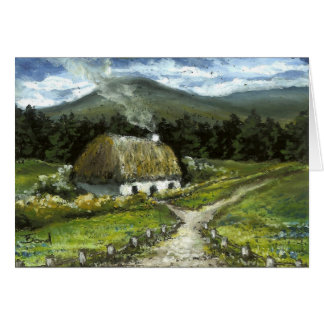 Connemara cottage card