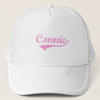 Connie Classic Style Name Trucker Hat