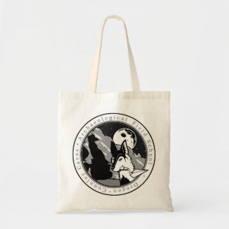 Connley Caves Field School round Tote bag