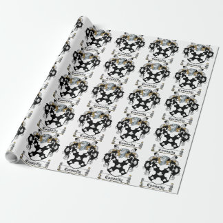Connolly Family Crest Wrapping Paper