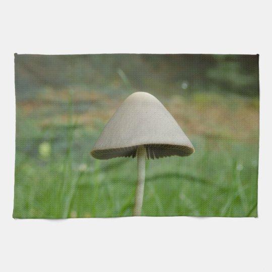 Conocybe rickenii Mushroom Tea Towel