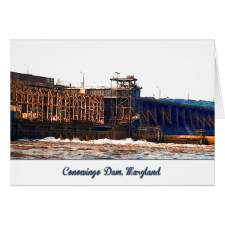 Conowingo Dam Greeting or Note Card