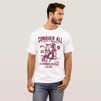 CONQUER ALL - FITNESS T-Shirt