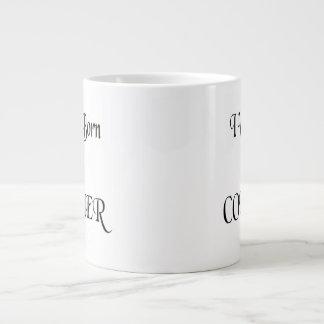 Conquer Large Coffee Mug